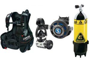 4sub corsi equipment