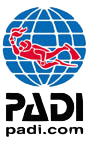 PADI LogoVertColorDotcom web