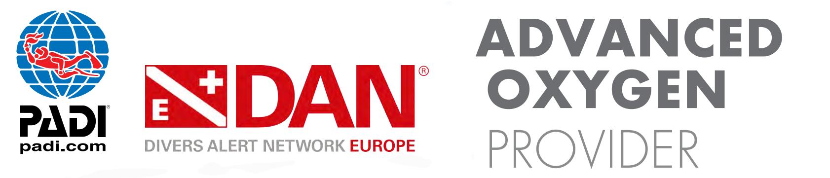 """PADI & DAN lanciano la nuova Specialità Distintiva """"PADI/DAN Advanced Oxygen Provider"""" una grande opportunità per tutti i Diving Center PADI, pensata per gli Istruttori, Assistant Instructor e Divemaster PADI."""