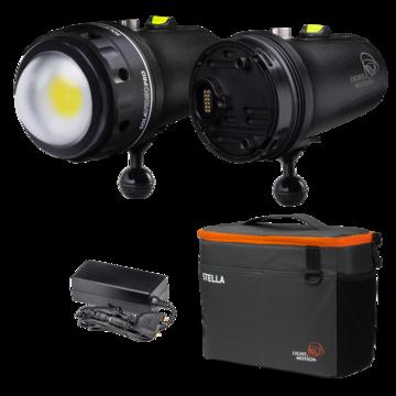 SOLA Video Double Dive 1X 15K Kit Dome Port