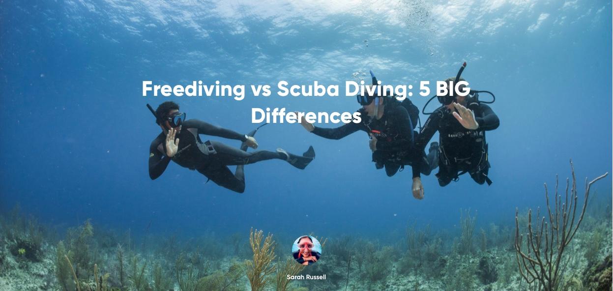 Apnea vs Scuba Diving 5 GRANDI differenze